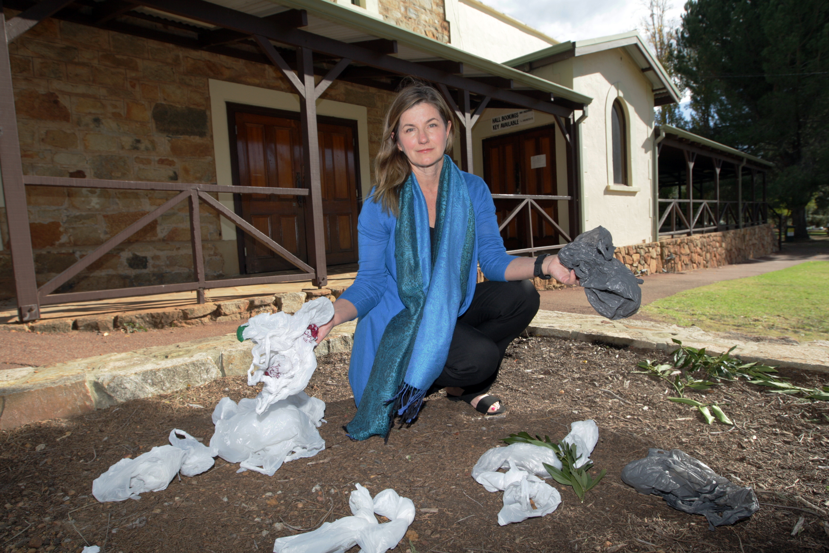 Shire of Mundaring councillor Trish Cook moved a motion to ban single use plastic. Picture: Bruce Hunt