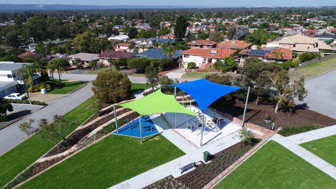 Bunning Park in Bentley has undergone a $390,000 upgrade.