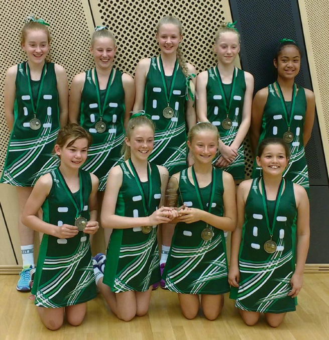 Belmont Netball's under-13s team had a stunning win in the grand final at the Association Championships.