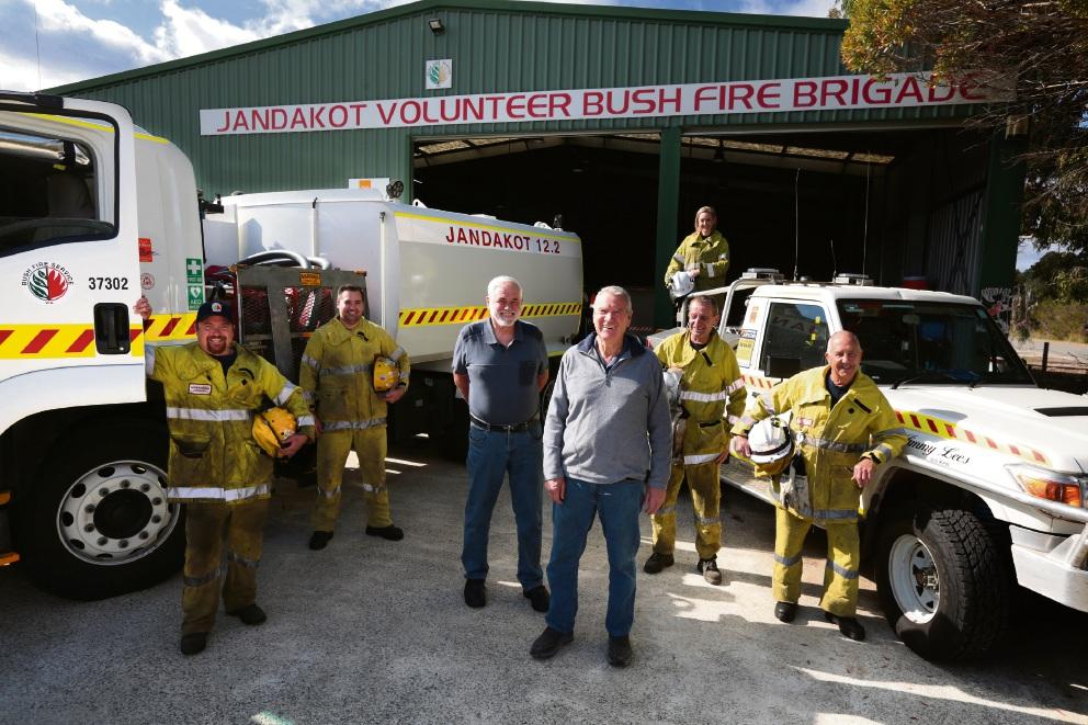 Gavin McDairmid, Jarrad Fowler, Bill Salter, Les Crannage, Prue Filer, Steve Goedecke and Bob Haddrell. Picture: Martin Kennealey d470478