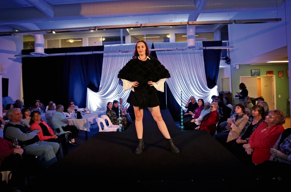 The models brought out the best in op-shop chic. Pictures: David Baylis �������www.communitypix.com.au   d470176
