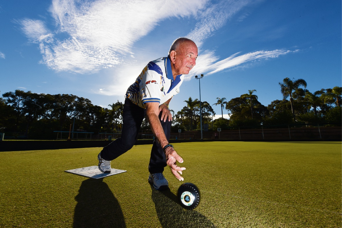 John Ravlich has been inducted into the Bowls WA Hall of Fame. d470342