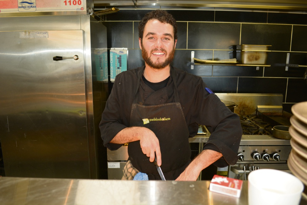 Paddock + Farm head chef Benjamin Bullock. Picture: Kristie Lim