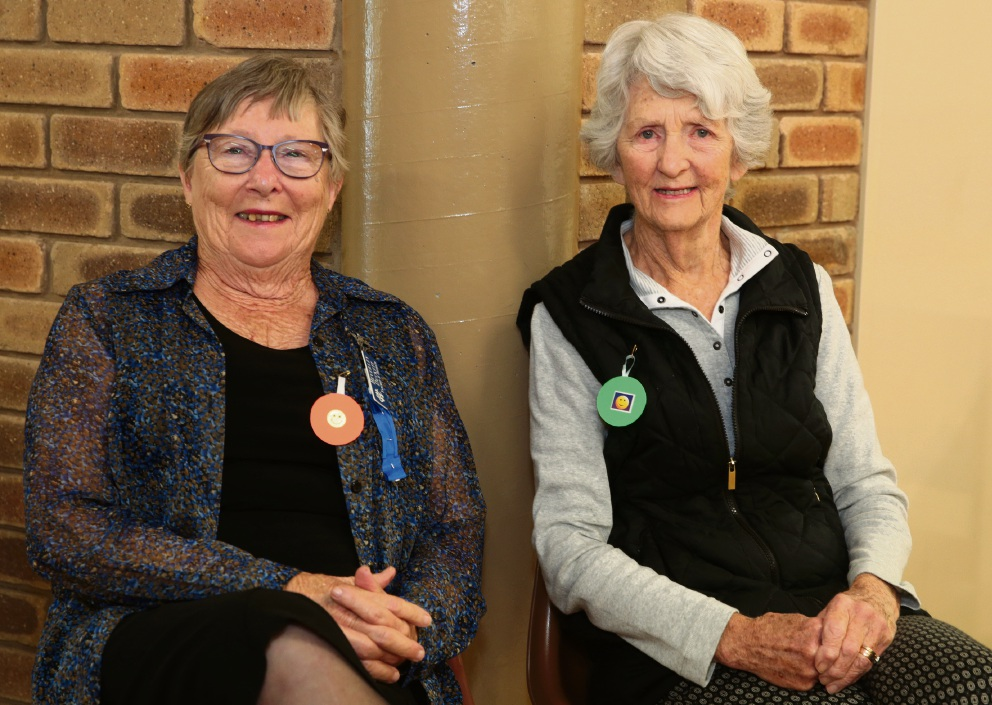 Beverley Duckett and Margaret Mullins from Yanchep CWA. Picture: Martin Kennealey