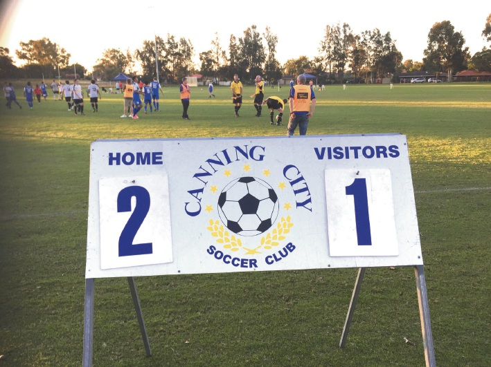 Soccer: Canning City claims first win of the season against South West Phoenix