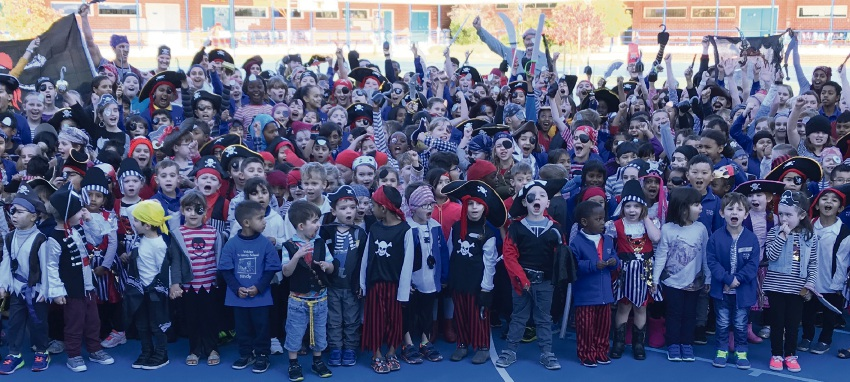 Yokine PS overrun by pirates with good intentions on Pirate Day Friday