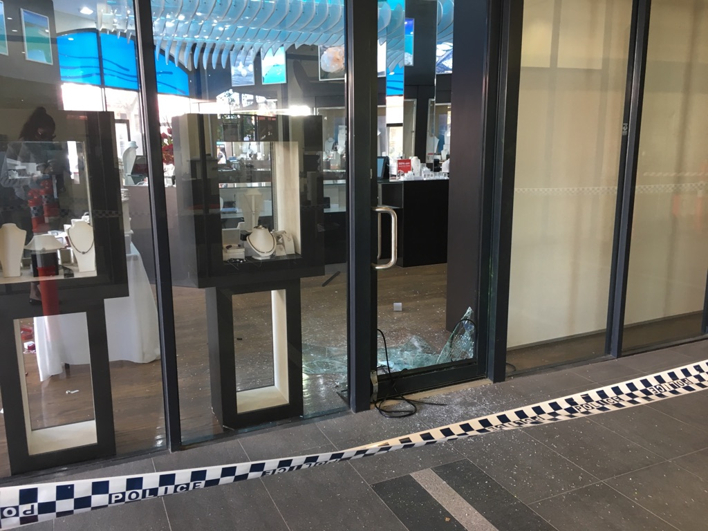 Subiaco jewellery store Willie Creek Pearls hit by thieves