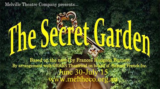 Melville Theatre Company presents The Secret Garden
