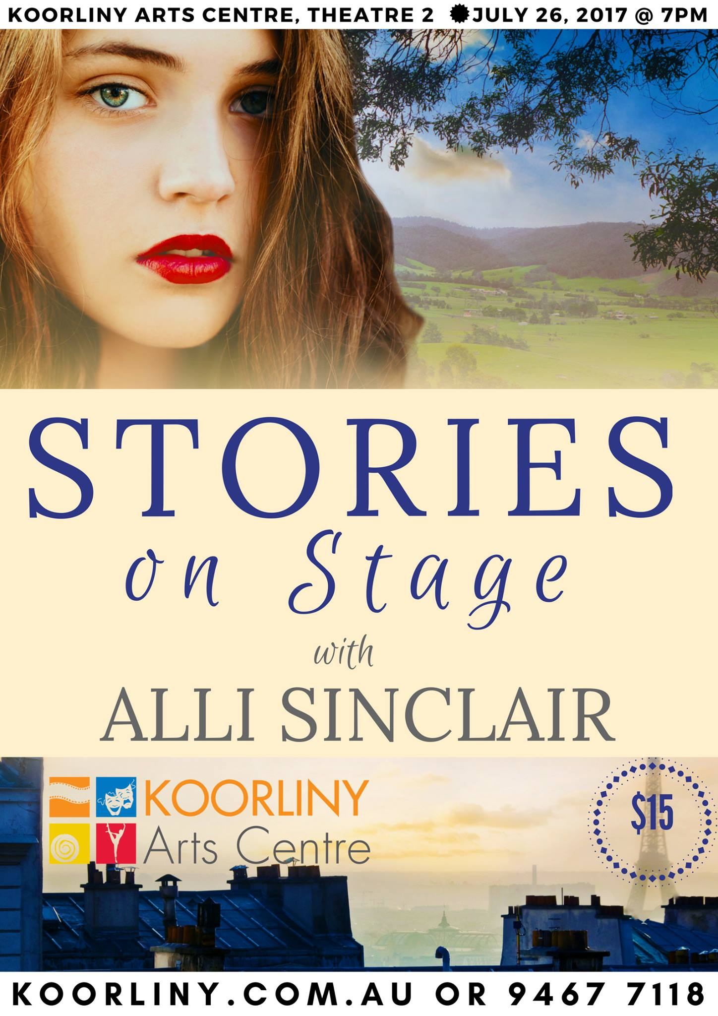 Stories on Stage: Alli Sinclair