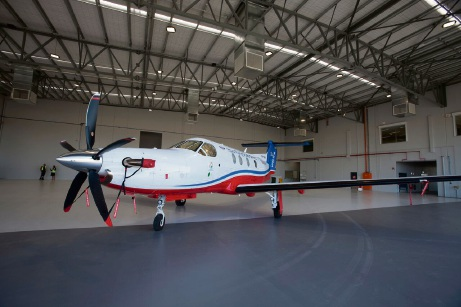 The Royal Flying Doctor Service's new hangar at its Jandakot base was unveiled today.