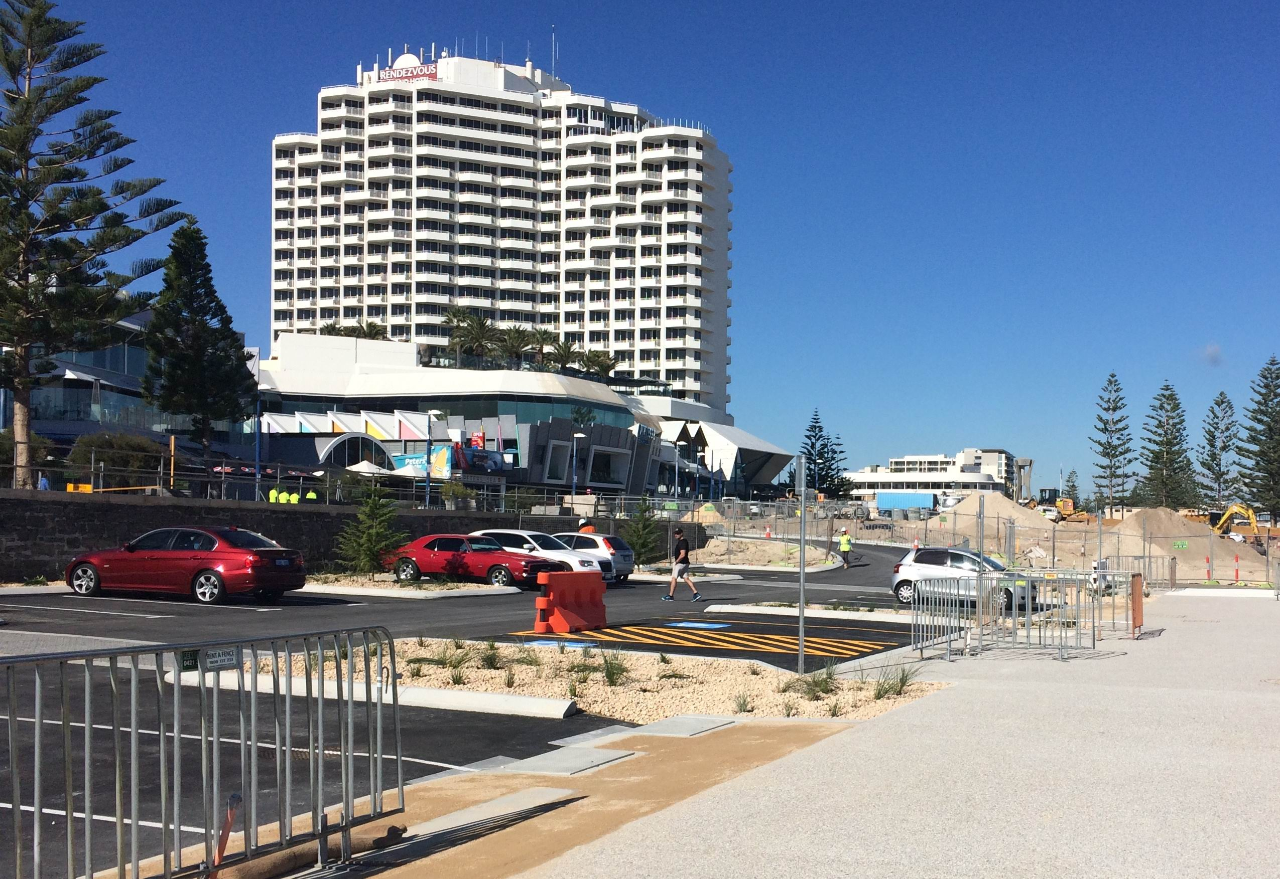 Scarborough foreshore's northern car park has reopened.