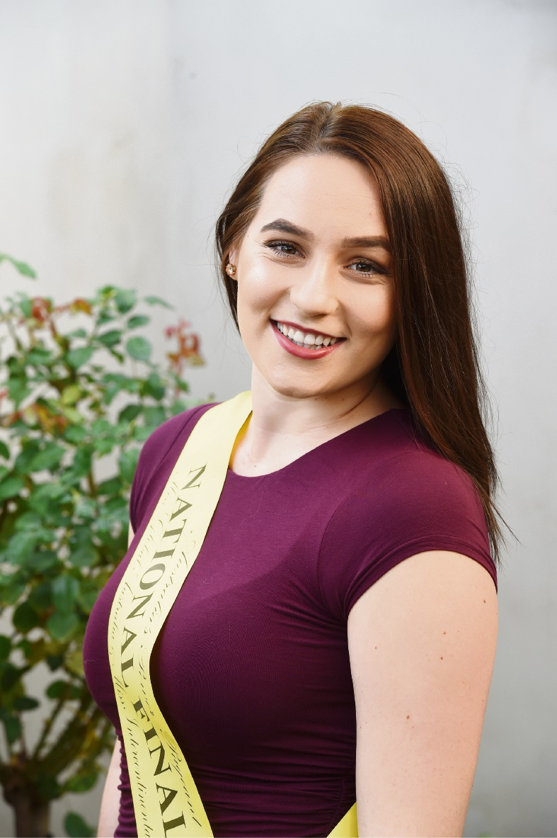 Alannah Bayliss is a national finalist in the Aussie Power Pageant. Picture: Jon Hewson