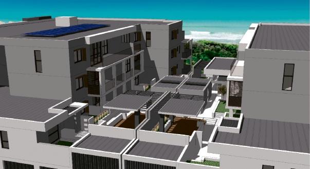 Artist's impressions of the proposed Portside Promenade development.