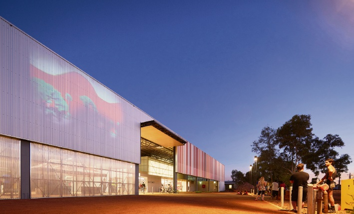 The Jeffery Howlett Award for Public Architecture was handed to Officer Woods Architects for the East Pilbara Arts Centre.