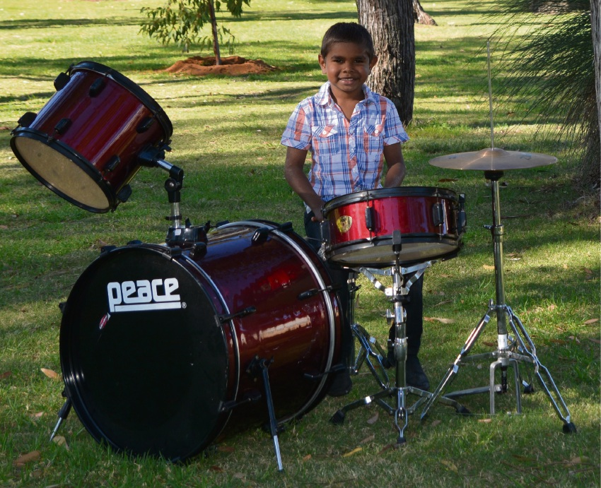 Drummer Desmond Hall will be taking part in the official opening of Naidoc Week.