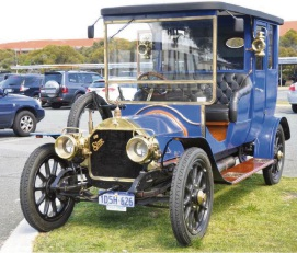 This 1911 Star, one of the oldest cars in the club, was rebuilt by John and Jenny Muhleison who attended the inaugural meeting.