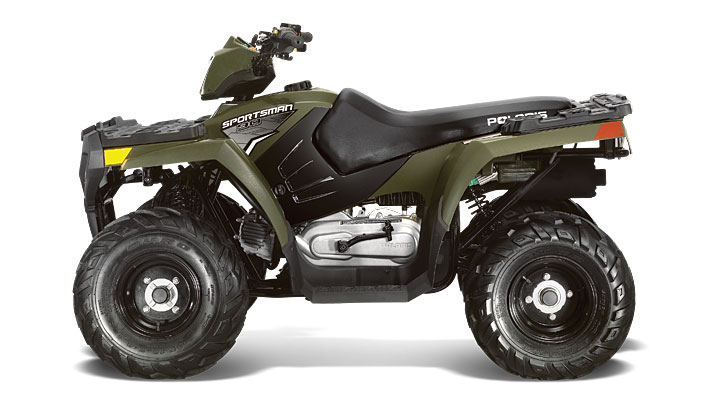 The Polaris Sportsman 90 is one of the quads recalled. Picture: Polaris