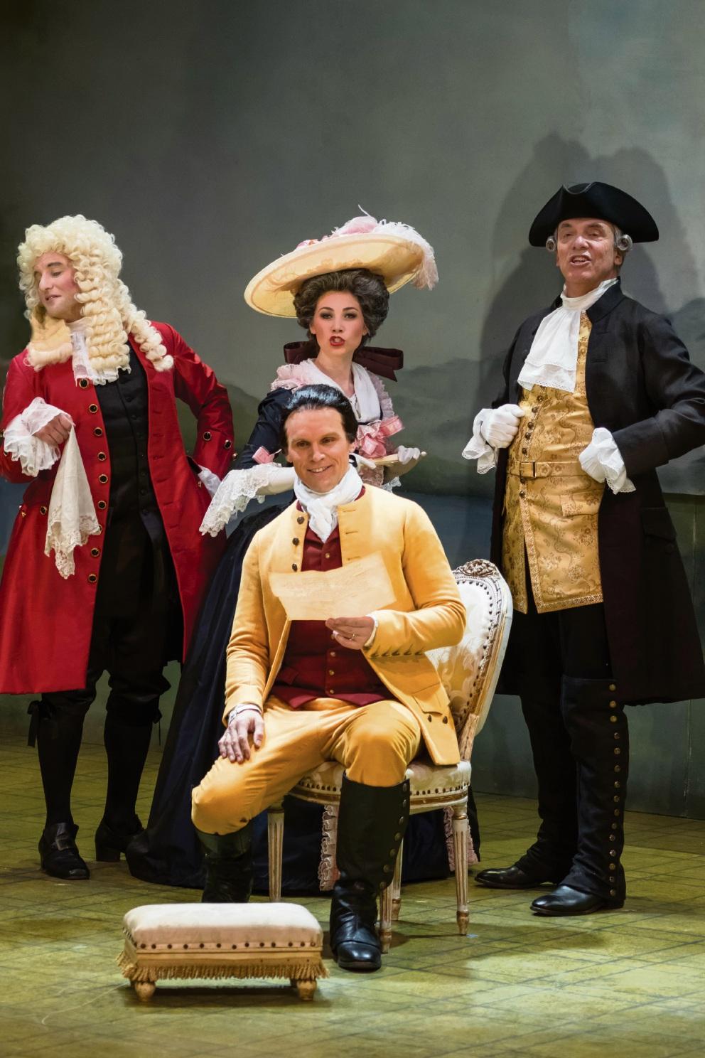 Opera Australia performs Figaro in Mandurah next month.