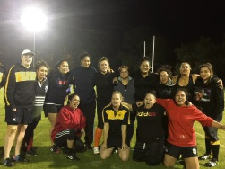 The Swan Suburbs women's side.