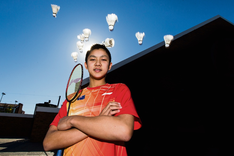 Badminton: Wesley College student 'a natural' says former world number 1