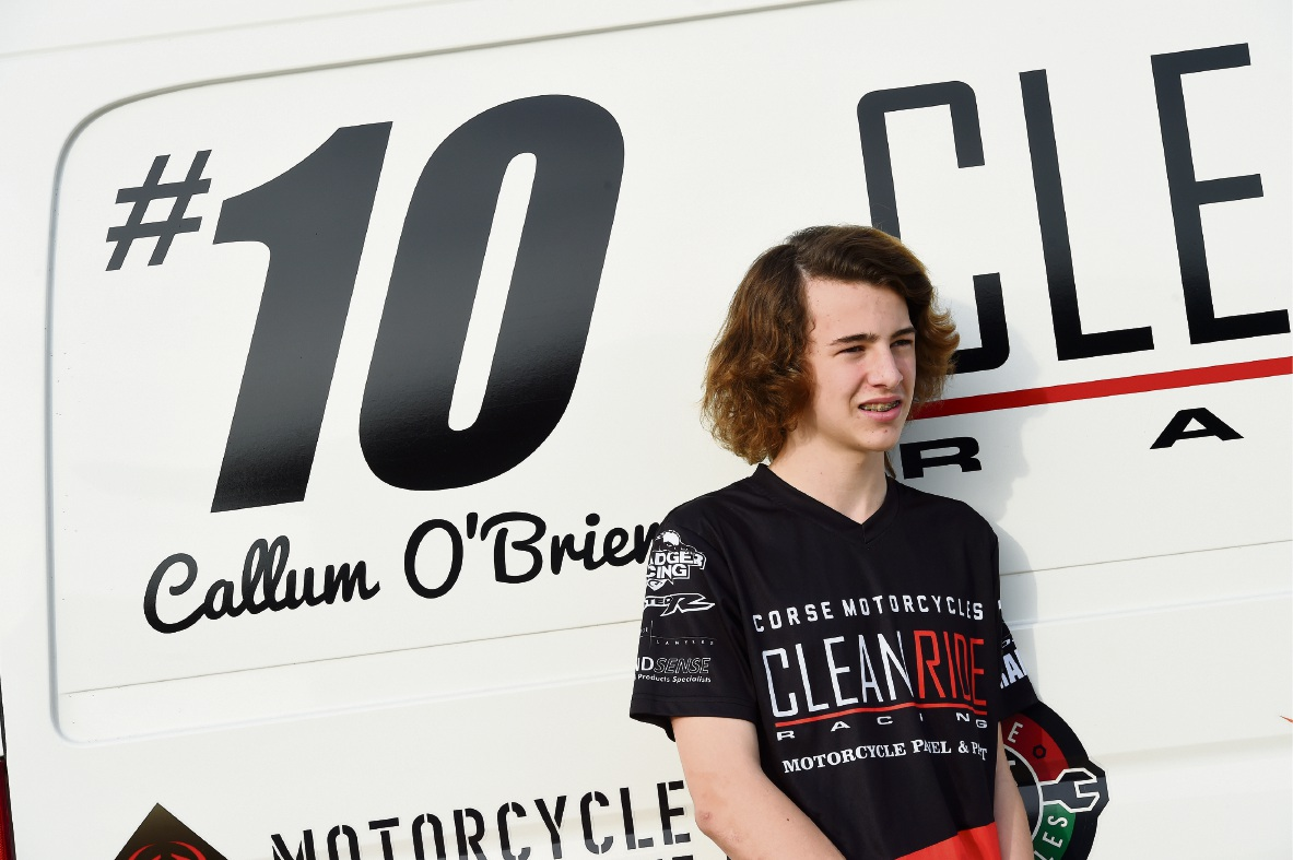Wandi teenager Callum O'Brien has been invited to try out for an Italian racing team.