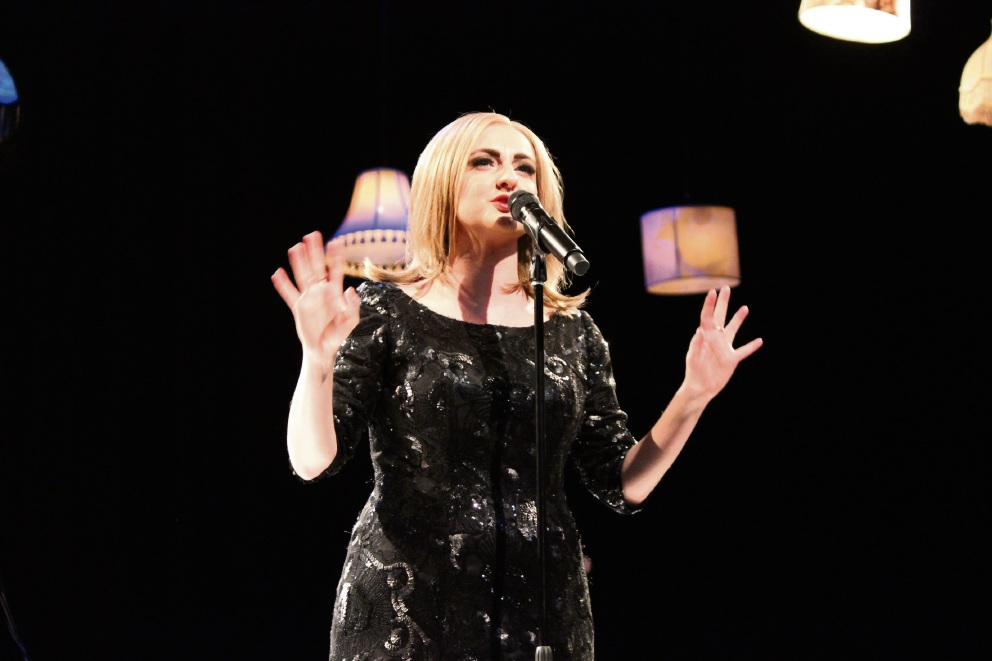 Naomi Price as Adele. Picture: Lisa Perrin