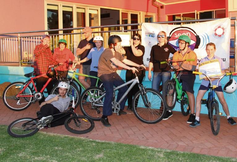 Swan View youths restore bikes as part of Dismantle's BikeRescue
