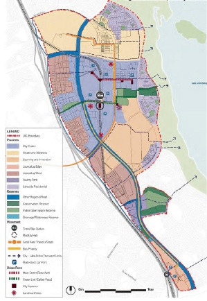 The draft Joondalup Activity Centre Plan.