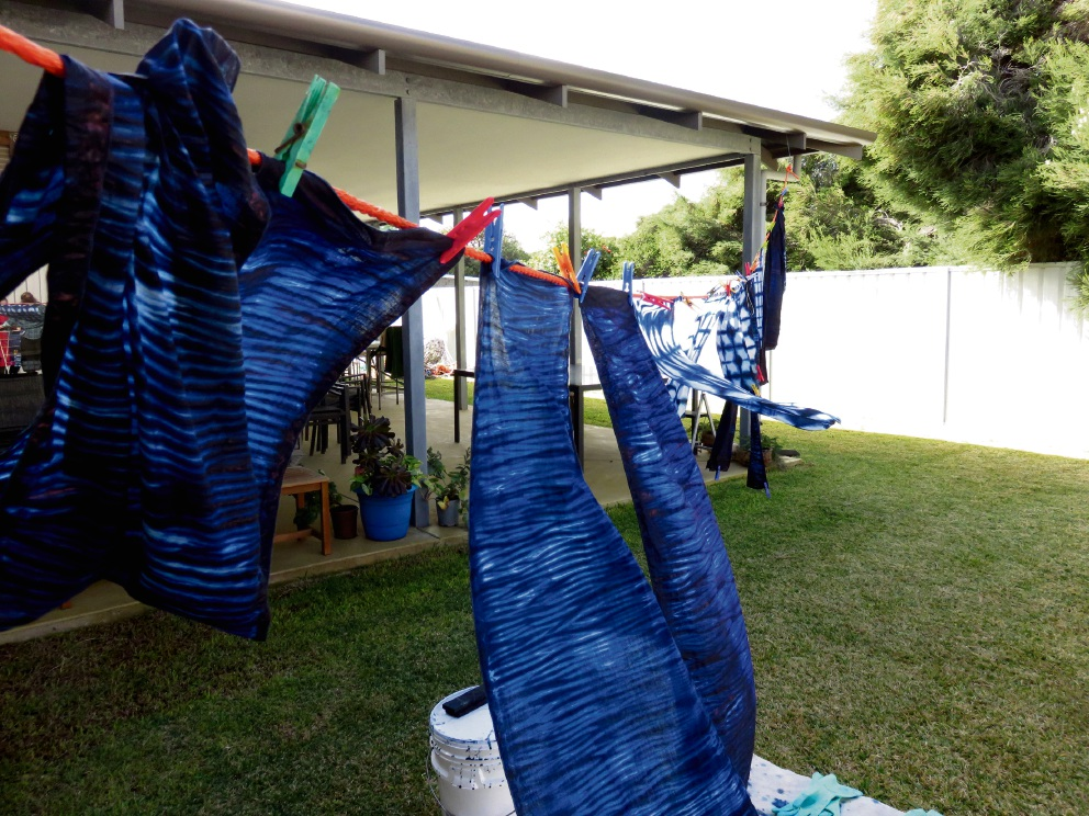 TRYCAN will hold a Shibori indigo dyeing workshop in July.