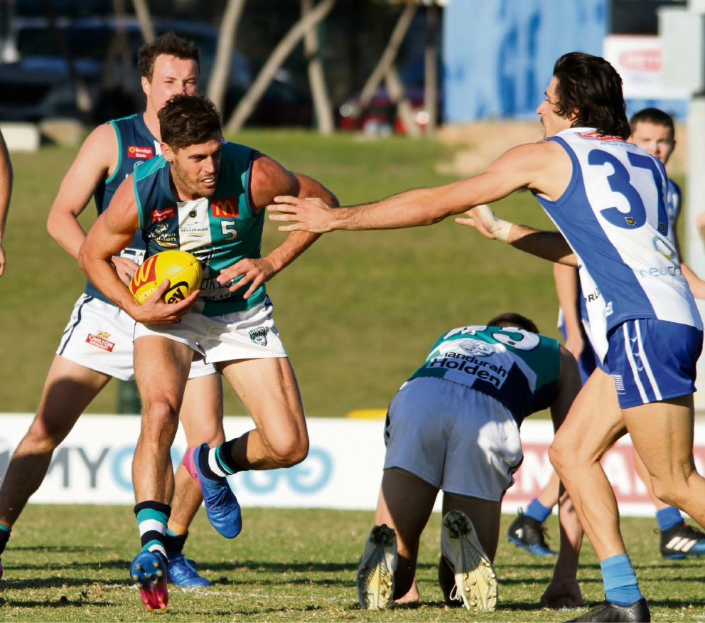 WAFL: Peel triumphs over East Fremantle to cement top 5 spot