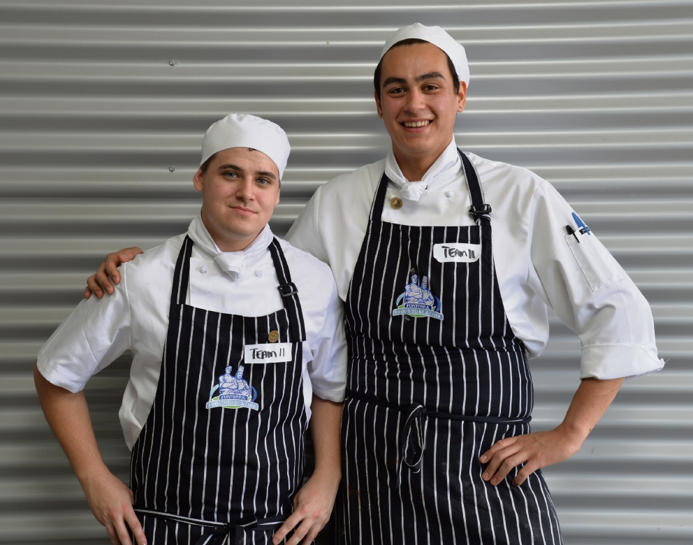 Mandurah chefs Jason Scott and Hayden Bilton won a gold medal at the Nestle Golden Chef's Hat competition.