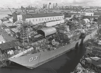 Naval ship scrapped at Henderson had whisky bottle stash for 35 years