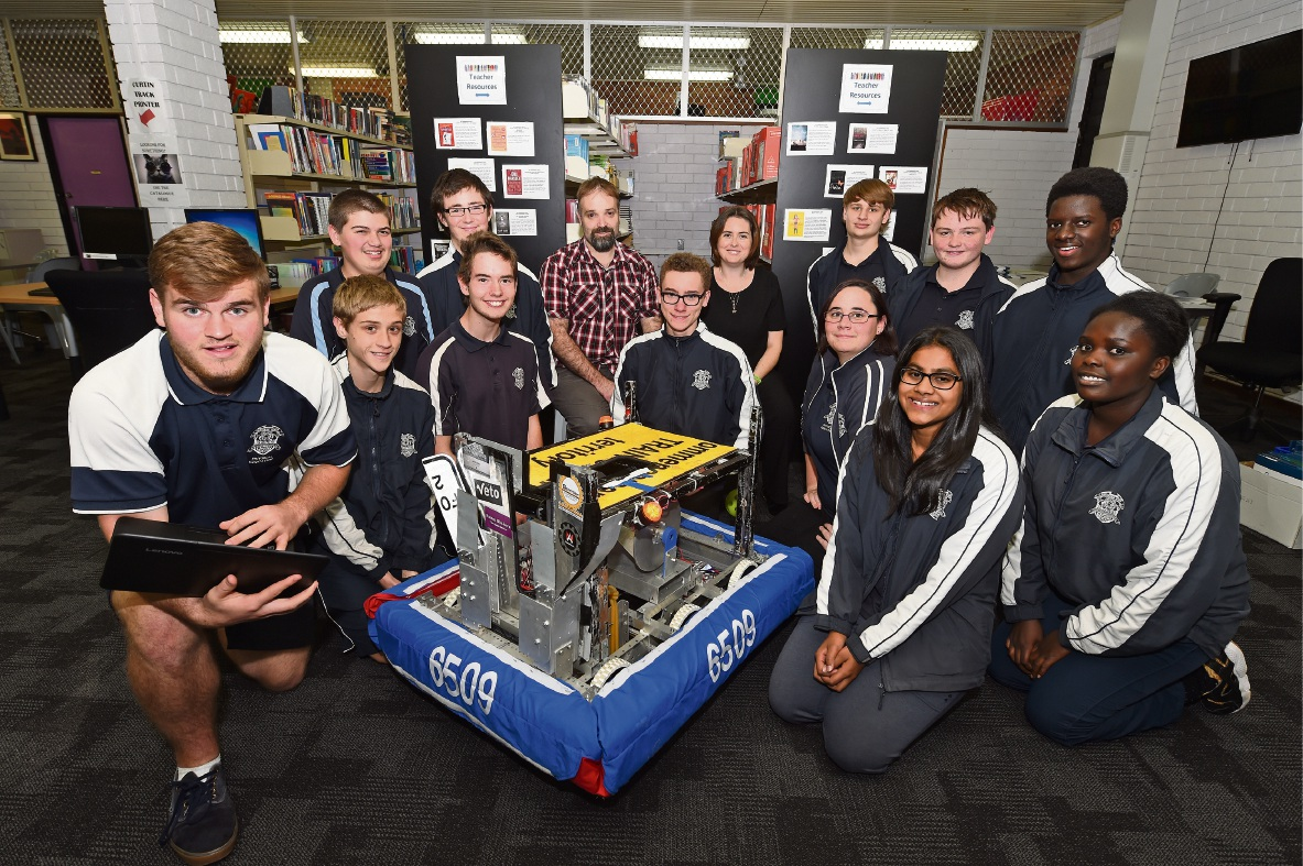 Southern River College students excel in national robotics competition