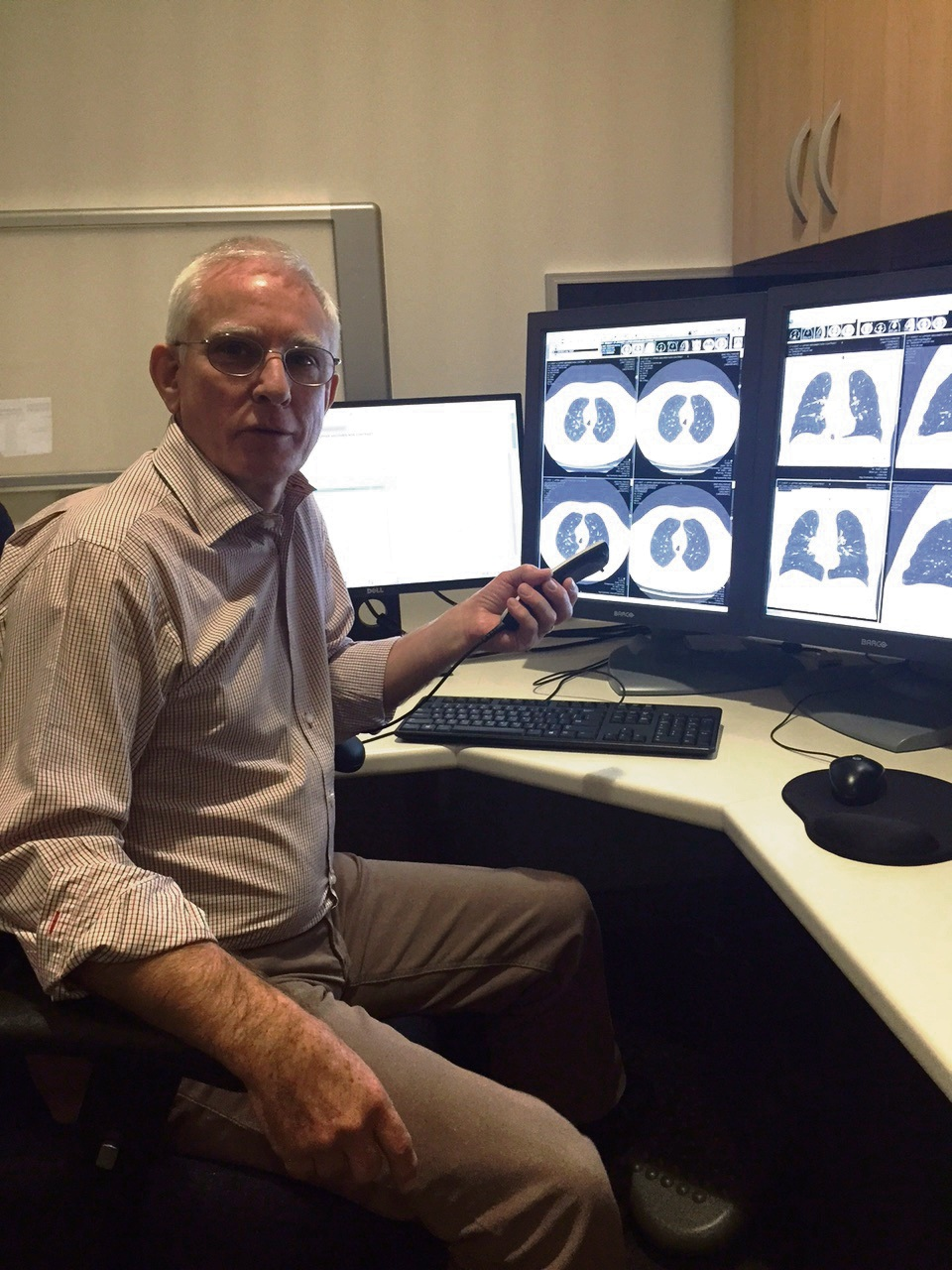 SKG Mandurah radiologist Peter Leaver.