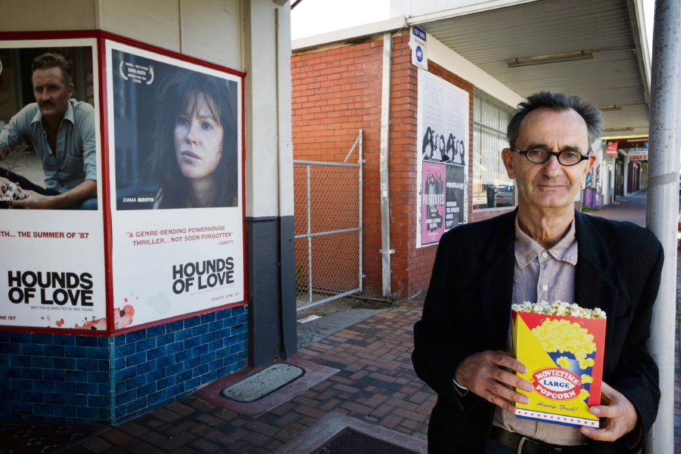 Tony Bective from Luna Leederville. City of Vincent has approved an application to expand Luna Cinemas. Picture: Andrew Ritchie d471048