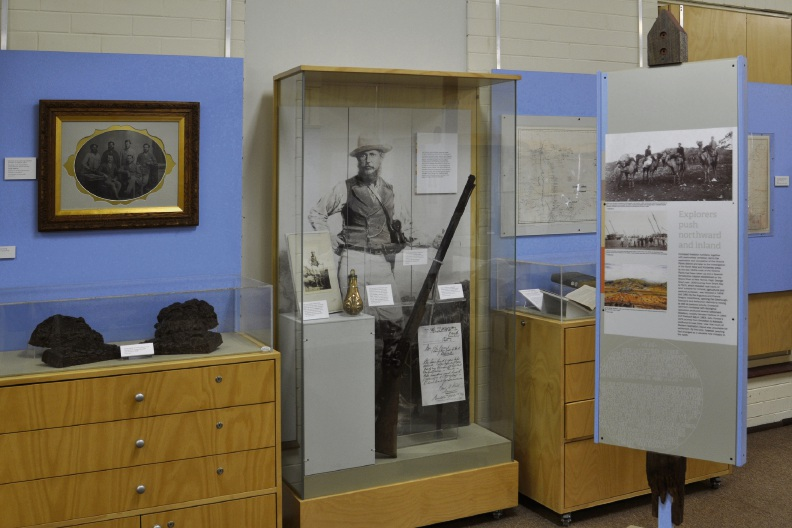 Part of the Western Land: a journey of discovery and rediscovery exhibition.