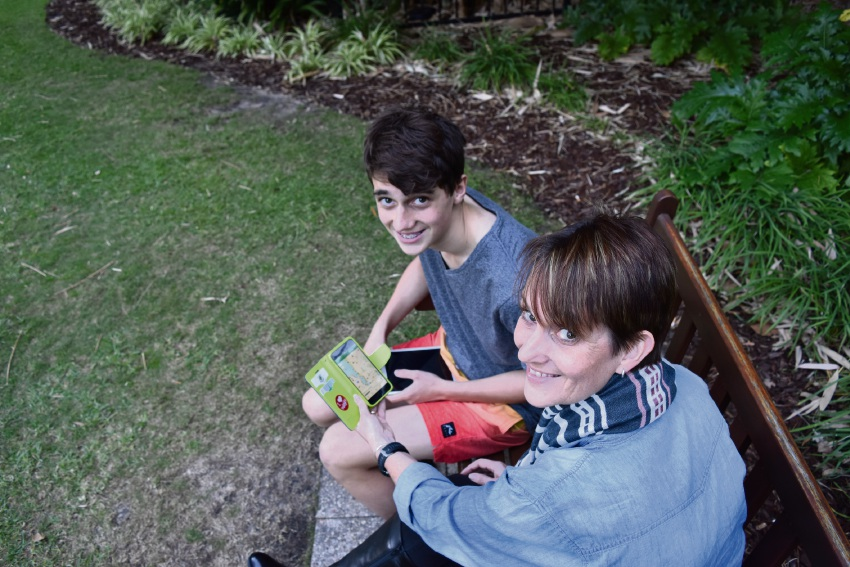 Perth history lessons on the agenda for holidays thanks to Geocaching app