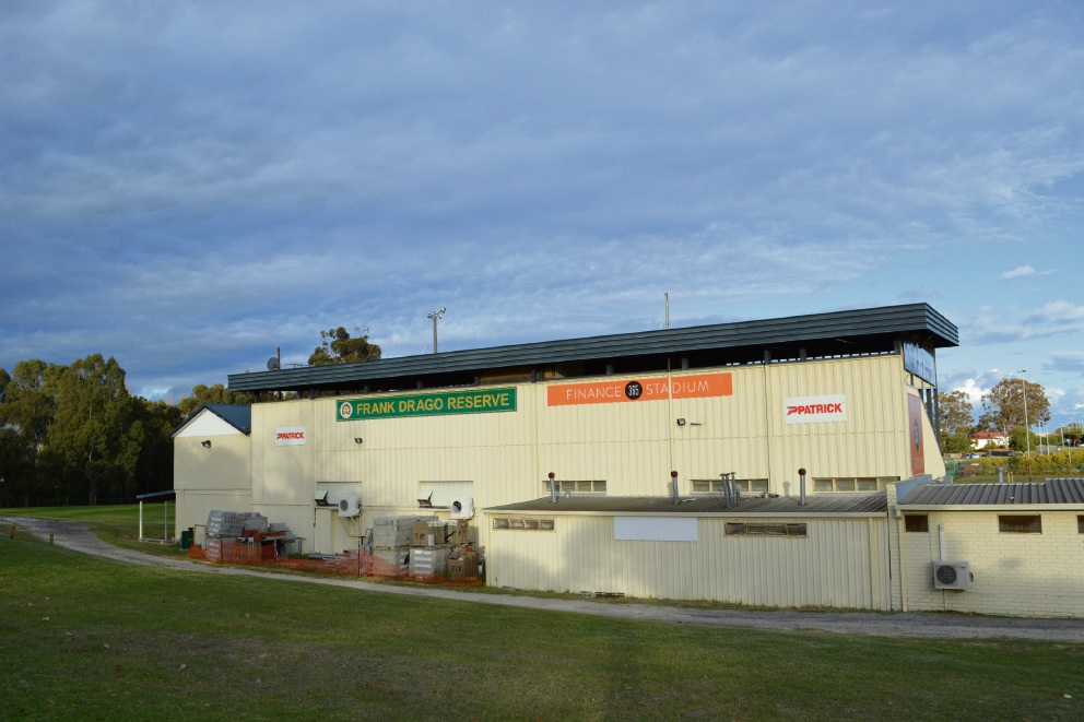 Bayswater City Soccer Club's home, Frank Drago Reserve.