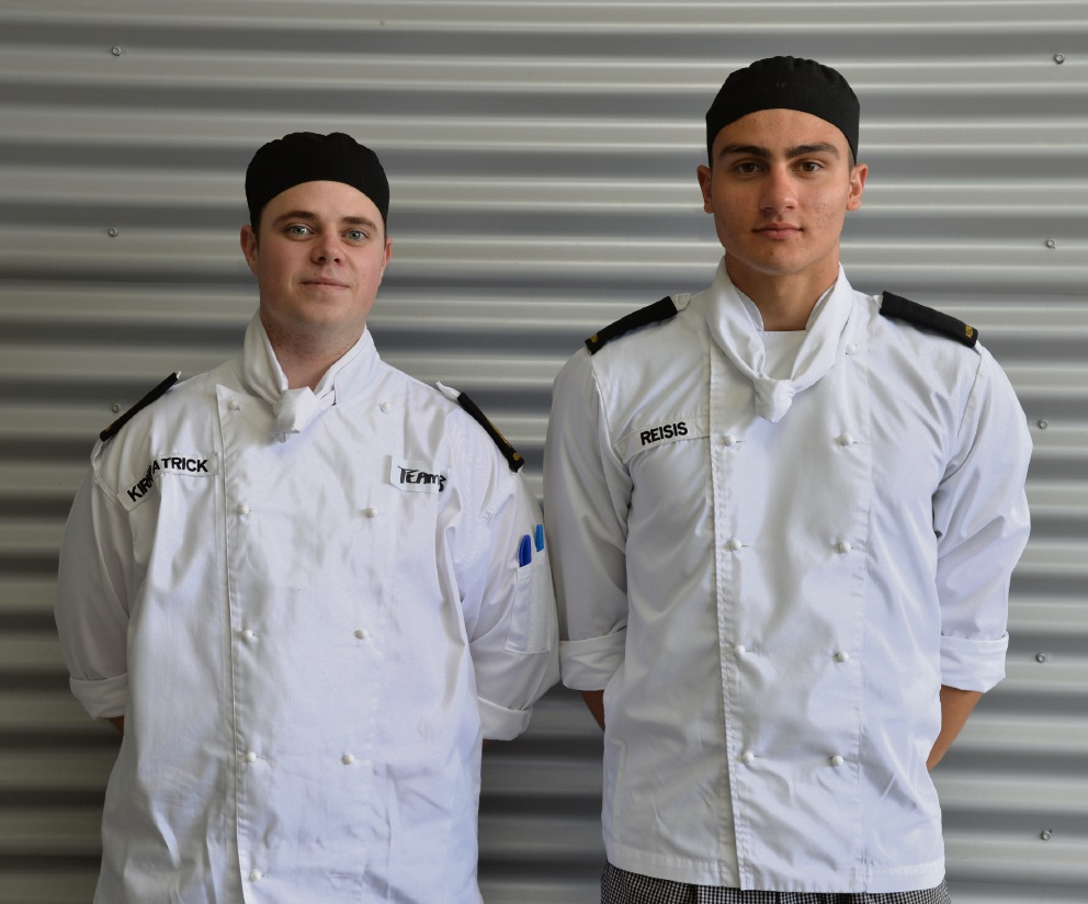 HMAS Stirling chefs take silver in WA heat of Golden Chef's Hat Award