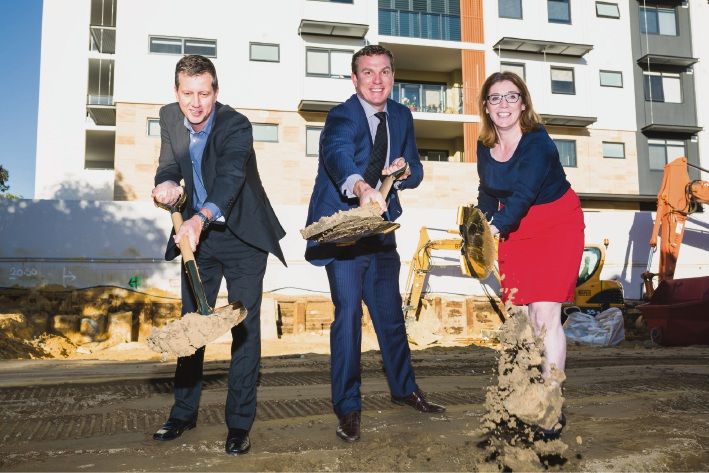 Enclave: Planning Minister attends groundbreaking for Blackburne East Perth development