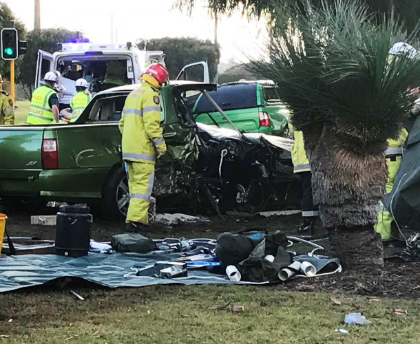 Man injured in Patterson Rd accident