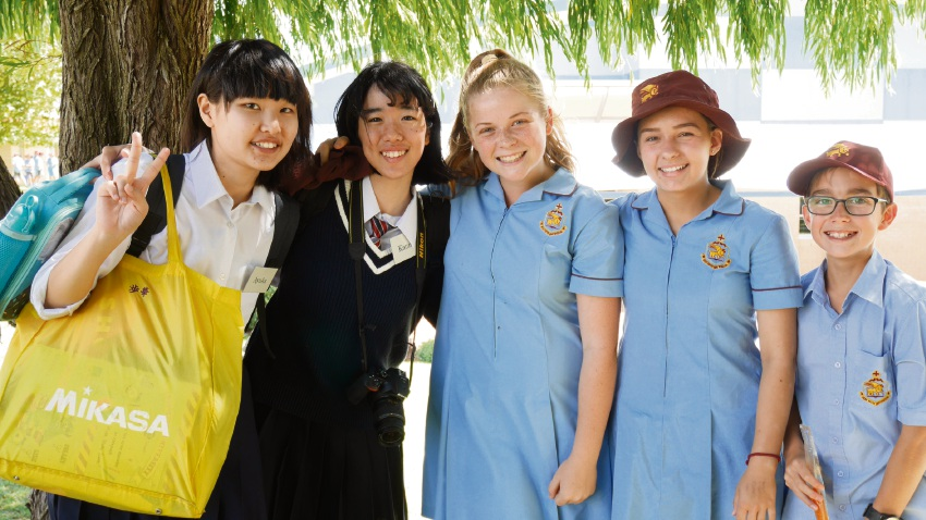 St Mark's Anglican Community School is looking for host families.