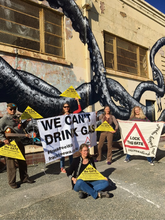 The Gasfield Free Metro Action Group will be taking part in a nation-wide action.