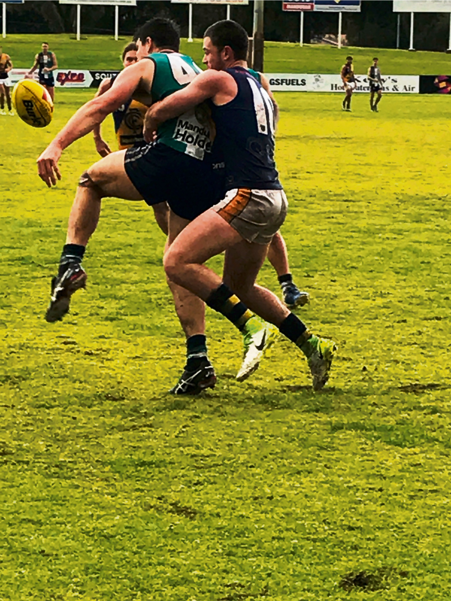 Peel Thunder in action over the weekend.