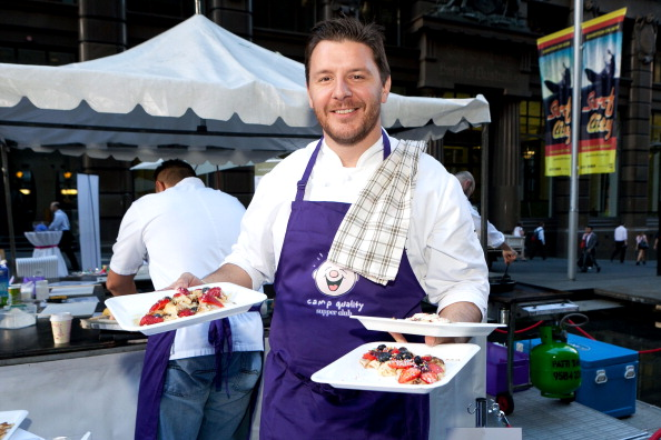 Chef Manu Feildel. Picture: Caroline McCredie/Getty Images