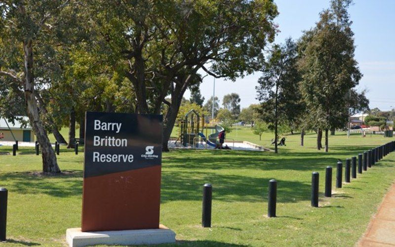 Barry Britton Reserve in Balga.