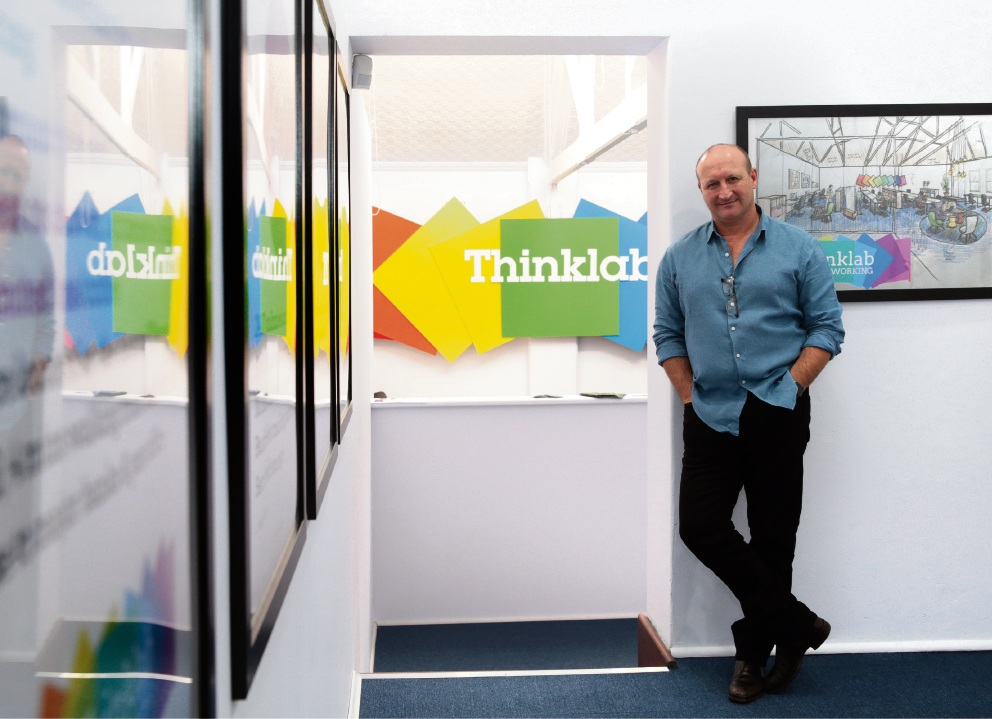 Tim Dean, founder of Thinklab. Picture: Martin Kennealey