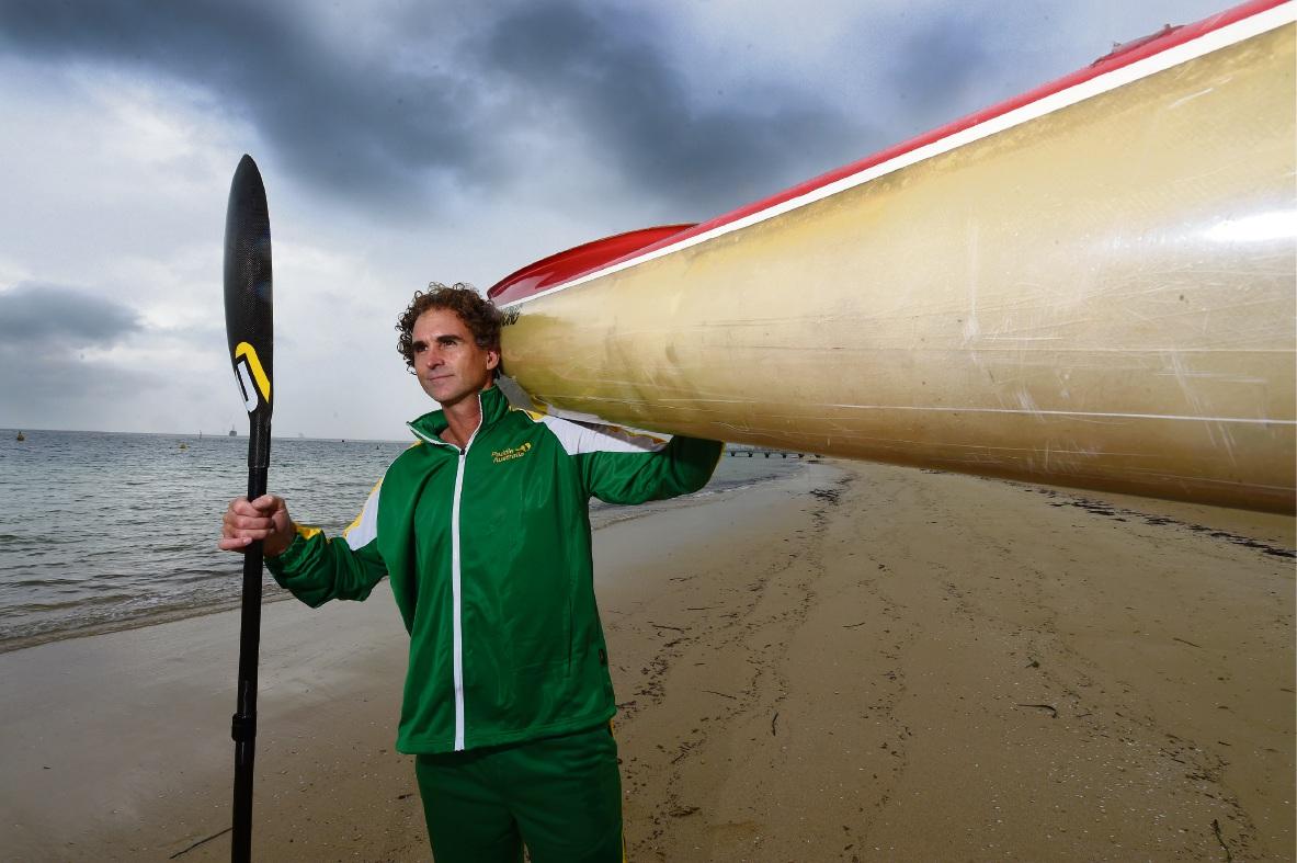 Brett McDonald. Picture: Jon Hewson