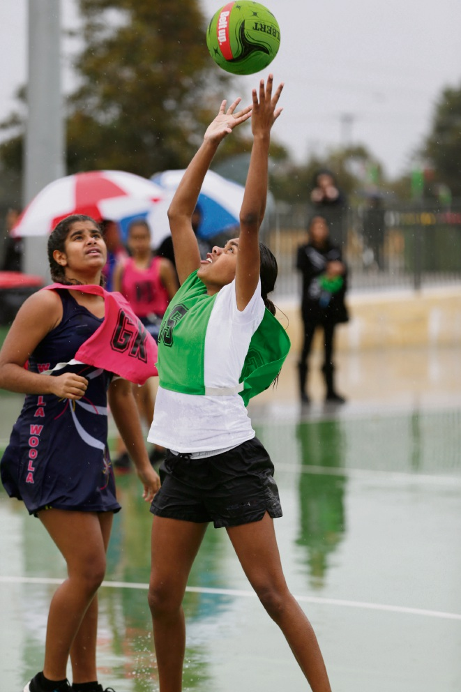 Naidoc Netball Carnival at Matthews Netball Centre. Picture: Andrew Ritchie d471285
