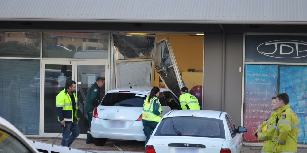 Emergency crews at the scene. Picture: Mark Donaldson